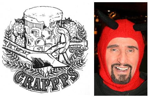 CRAPPPS Logo & Paul 475x310